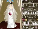 优雅婚礼的新娘