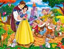 白雪公主爱情拼图