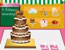 装扮浪漫婚礼蛋糕