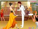浪漫情侣的舞会
