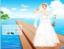 海边美丽新娘