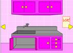 逃出粉红色厨房