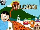 火山爆发岩浆导流