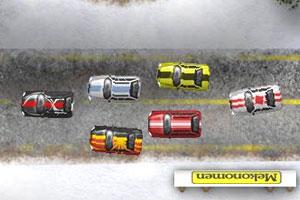 雪地汽车大奖赛