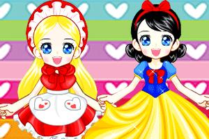 打扮童话小公主
