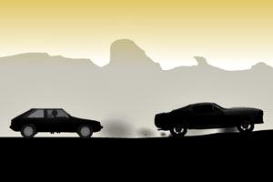 火柴人狂暴-沙漠公路