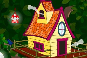 小鸟帮我盖树屋