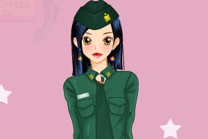 打扮中国空姐