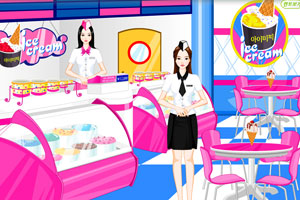 经营冰淇淋餐厅
