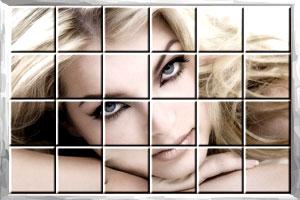 性感美女拼图3
