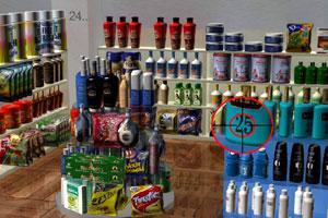 超市购物找数字