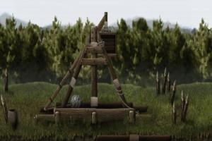古代投石车