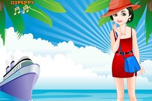 盛夏美女海滩装
