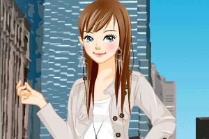 城市女孩装扮