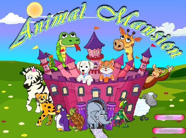 城堡公主喂动物