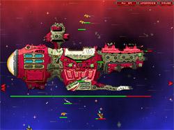 太空堡垒防御战