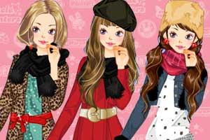 新年暖暖红装