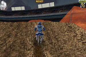 单圈摩托比赛