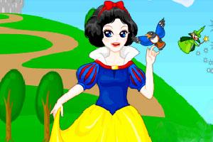 打扮白雪公主