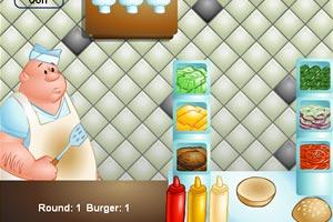 跟大厨学做汉堡