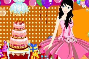 生日派对的公主