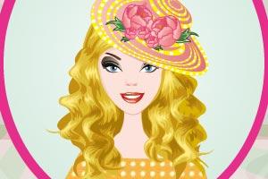 芭比公主做帽子