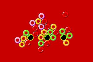 彩虹指环泡泡