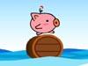 海上滚木桶