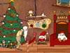 圣诞老人发放礼物