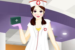 医院护士换装