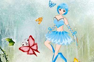 美丽的蝴蝶仙子