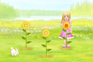 春天的向日葵