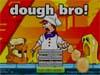 厨师揉面团