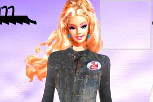 时尚芭比娃娃