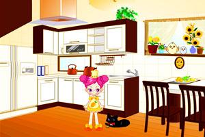 阿Sue整理厨房