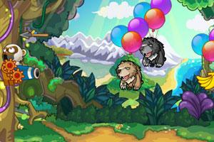 小猴子保卫森林小游戏图片图片