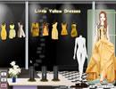黄色小礼服