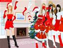 圣诞小红裙