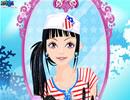 海军女孩装扮