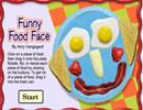 有趣的食物脸