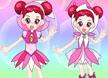 粉红色卡通娃娃