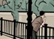 混在巴黎之街头画像